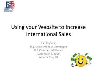 Using your Website to Increase International Sales