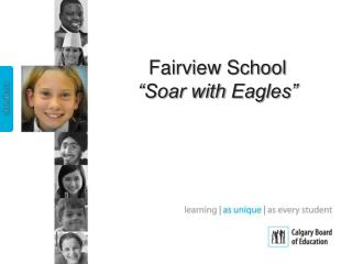 "Fairview School   ""Soar with  Eagles"""