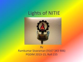 Lights of NITIE