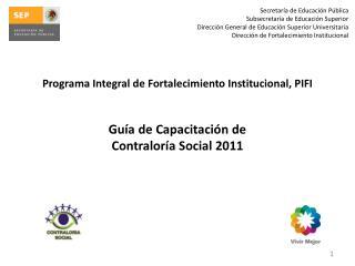 Secretaría  de  Educación Pública Subsecretaría  de  Educación Superior