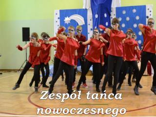 Zespół tańca  nowoczesnego