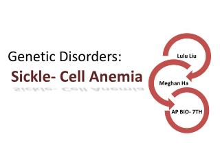 Sickle- Cell Anemia