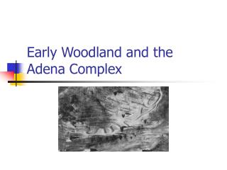 Early Woodland and the Adena Complex