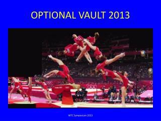 OPTIONAL VAULT 2013