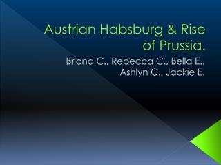 Austrian Habsburg & Rise of Prussia.