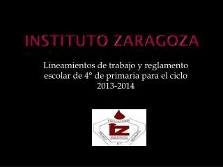 Instituto Zaragoza