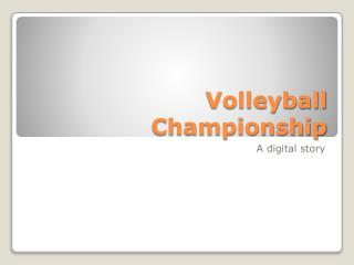 Volleyball Championship