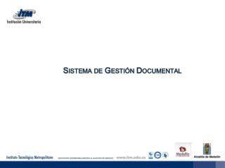 Sistema de Gesti�n Documental