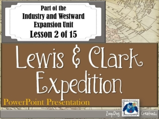 President Jefferson  and  Lewis and Clark