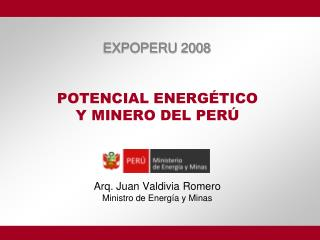 POTENCIAL ENERG TICO  Y MINERO DEL PER