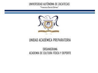 """UNIVERSIDAD AUTÓNOMA DE ZACATECAS """"Francisco García Salinas"""""""