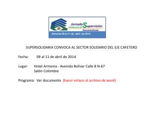 Armenia 09 al  11  de  abril   de 2014