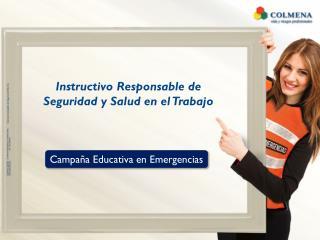Instructivo  R esponsable  de  Seguridad y  Salud  en el  T rabajo