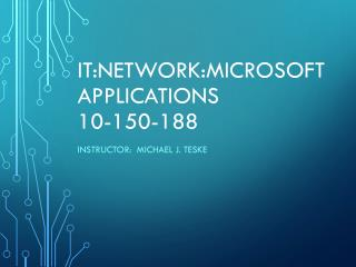 IT:Network:Microsoft  Applications 10-150-188