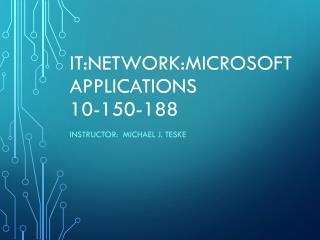 IT:Network:Microsoft  Applications 10-150-188