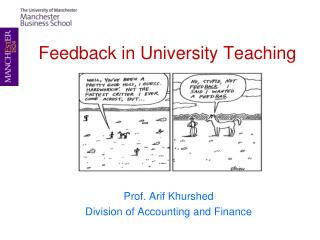 Feedback in University Teaching