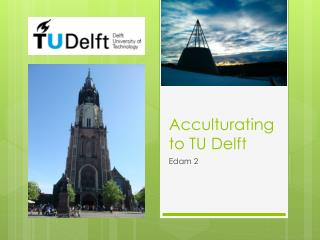 Acculturating to TU Delft