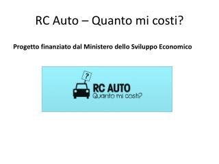 RC Auto – Quanto mi costi?