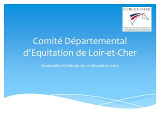 Comité Départemental d'Equitation de Loir-et-Cher