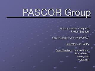 PASCOR Group