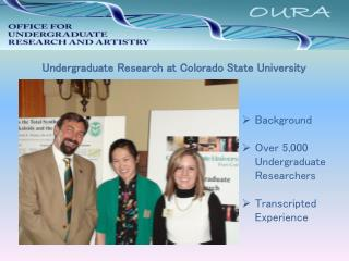 Undergraduate Research at Colorado State University