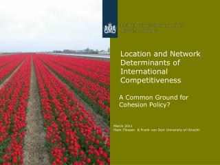 Location and Network Determinants of International Competitiveness