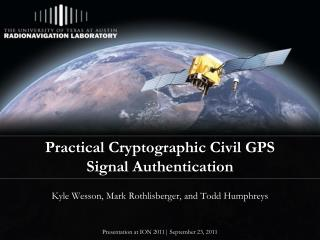 Practical Cryptographic Civil GPS Signal Authentication