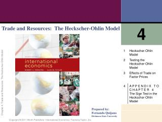 Trade and Resources:  The Heckscher-Ohlin Model