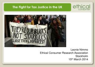 The Fight for Tax Justice in the UK