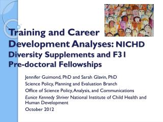 Jennifer Guimond, PhD and Sarah  Glavin , PhD Science Policy, Planning and Evaluation  Branch