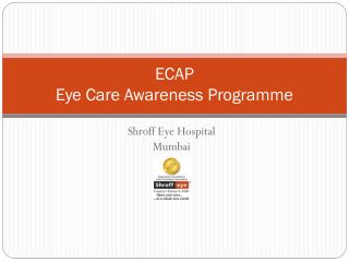 ECAP Eye Care Awareness Programme