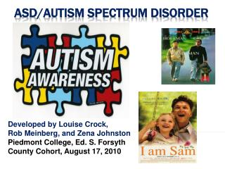 ASD/Autism Spectrum Disorder