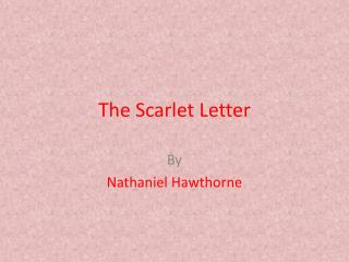 Figurative Language In The Scarlet Letter Chapter