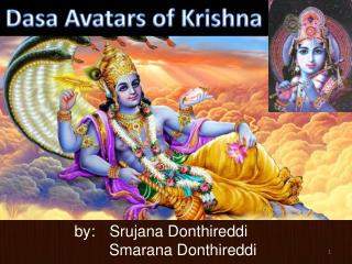 Dasa  Avatars of Krishna