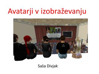Avatarji v izobraževanju