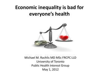 Economic inequality is bad for everyone's health