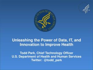 There Has Never Been a Better Time to Be a n Innovator at the Intersection of Health Care & IT
