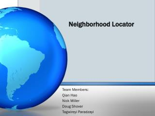 Neighborhood Locator