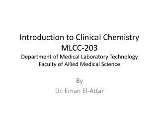 By  Dr.  Eman  El-Attar