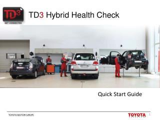 TD 3  Hybrid Health Check