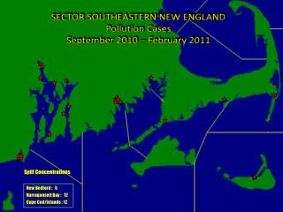 SECTOR SOUTHEASTERN NEW ENGLAND Pollution  Cases September 2010 – February 2011