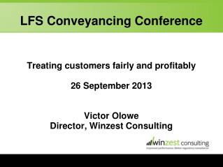 LFS Conveyancing Conference