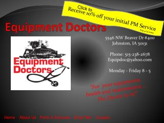 Equipment Doctors