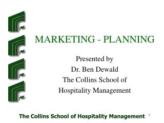 MARKETING - PLANNING