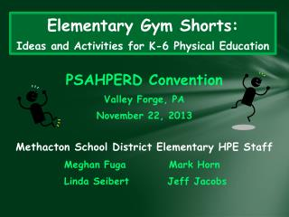 Elementary Gym Shorts: Ideas and Activities for K-6 Physical Education