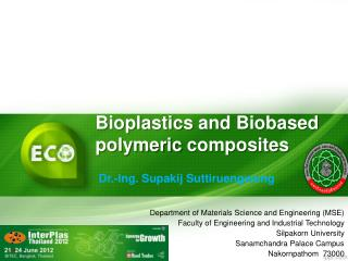 Bioplastics  and  Biobased polymeric composites