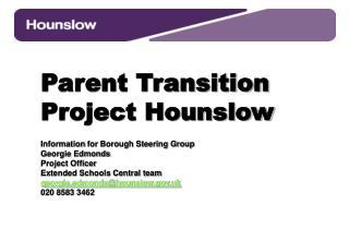 Parent Transition Project Hounslow