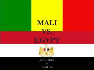 MALI  VS.  EGYPT