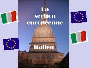 La  section  europ�enne