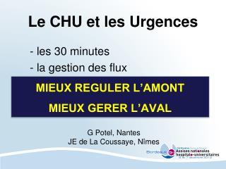Le CHU et les Urgences